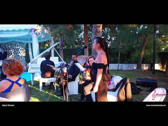 Salve Rociera Cantante Flamenca Boda de Rocio y Juan Diego Rincón Huertano Bodas Murcia