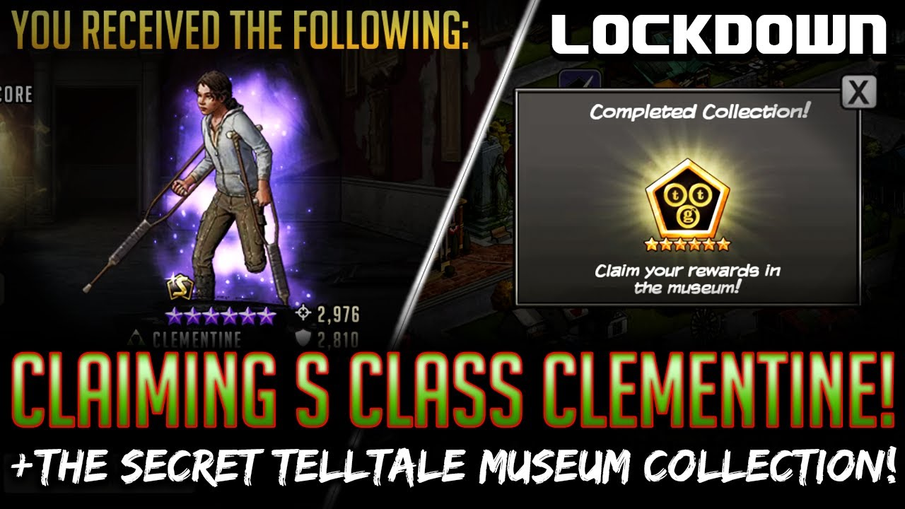TWD RTS: Claiming S Class Clementine + Telltale Museum Collection! Walking Dead: Road to Survival