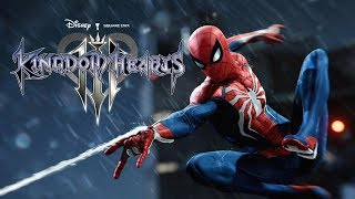Spider-Man Face My Fears Kingdom Hearts 3 Opening Mash Up