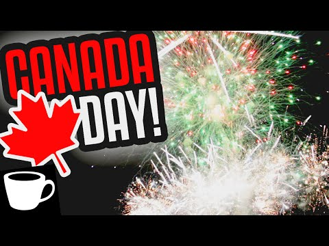 VLOG | CANADA DAY FIREWORKS! (Red Deer, AB Canada Day 2016)