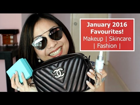 January 2016 Favourites - Kiehl's, Bioderma, OPI, Chanel, Tiffany & Co, Dior