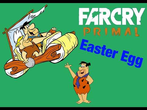 Far Cry Primal The Flintstones Car Easter Egg