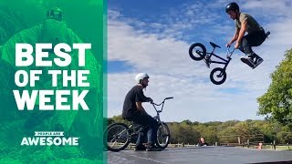 BMX Tricks, Roller Skating & Frisbee | Best of the Week