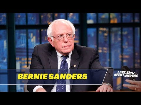 Sen. Bernie Sanders on Life after Campaigning and Donald Trump Supporters