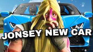 Fortnite Roleplay JONSEY GETS A NEW CAR! #51