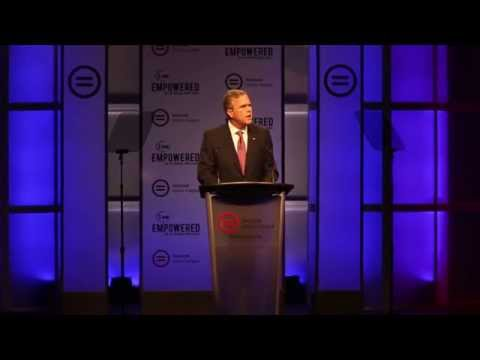 Five presidential candidates speak at National Urban League conference