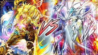 Cardfight!! Vanguard G: Gold Paladin (Gurguit/Ezel) Vs. Link Joker (Messiahs)