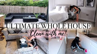 ULTIMATE WHOLE HOUSE CLEAN WITH ME 2019 || CLEANING MOTIVATION || ALL DAY CLEAN WITH ME!