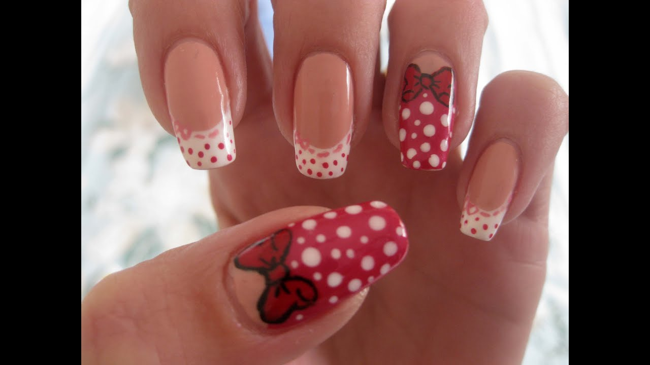 Nail Art Quotback To The 3950s Pin Up Dressesquot Tutorial
