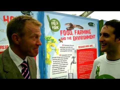 BBC Countryfile's Adam Henson talks global food security