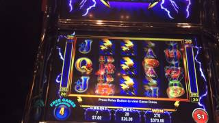 Ainsworth thunder cash big win high limit slot machine bonu
