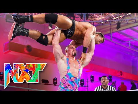 Bron Breakker vs. LA Knight: WWE NXT, Sept. 14, 2021