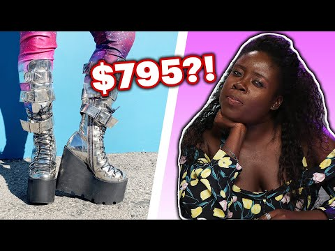 Fashion Stylist Guesses The Cost Of Shoes