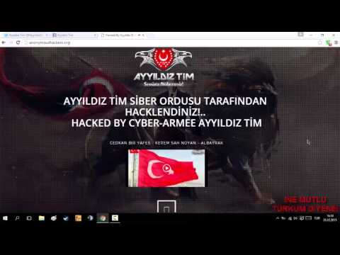 ANONYMOUS HACKED BY AYYILDIZ TEAM!!