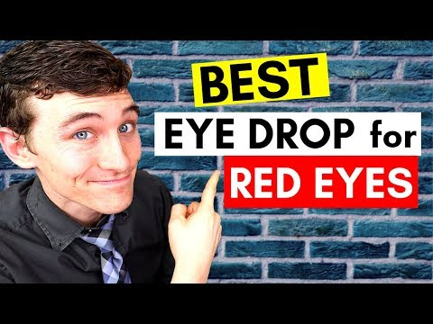 How to Get Rid of Red Eyes - The #1 Best Eye Drops for Red Eyes