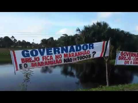 """Moradores interditam MA e cobram: """"governador ajude Brejo, lembre-se dos votos que o senhor recebeu"""""""