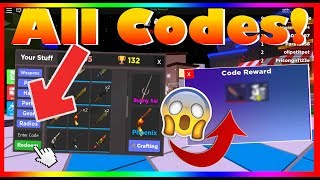 Mord 15 *ALL* Neue Codes! (2019) | ROBLOX
