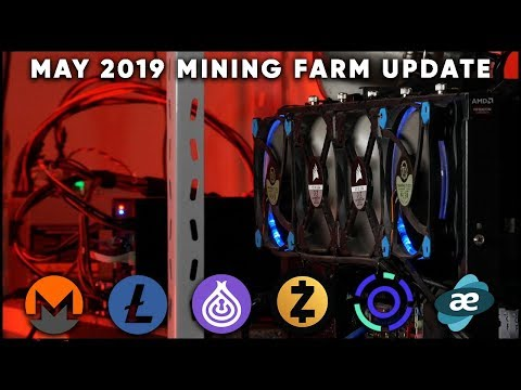 What I Am Mining / Channel Update (Cursed Mining Farm #14 - May 2019)