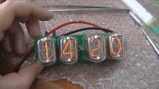 сборка часов на газоразрядных лампах (Nixie Clock)
