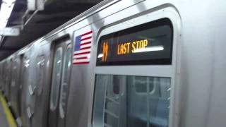 NYCTA:R160A M Local Train@57th Street/6th Avenue