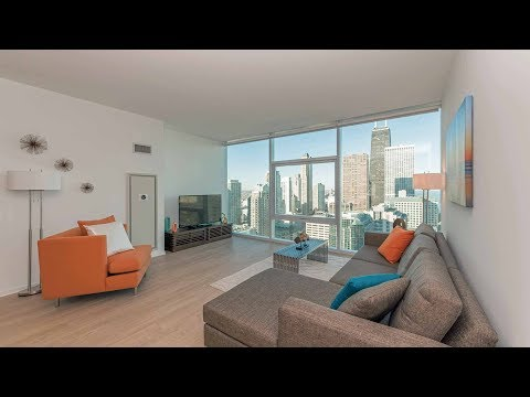 An Apex 2-bedroom, 2-bath at Streeterville