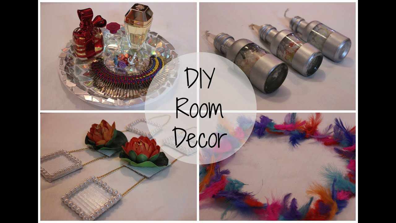 recycled room decor cute easy and affordable diy ideas youtube