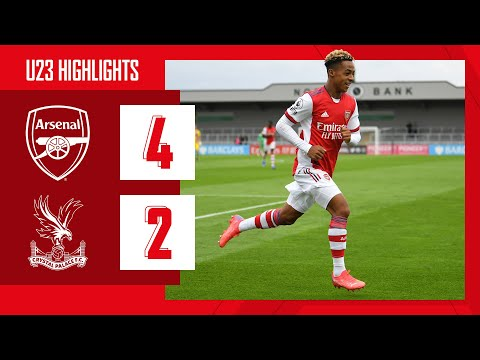 HIGHLIGHTS |  Academia Arsenal vs Crystal Palace (4-2) |  Hutchinson with an impressive solo hit!