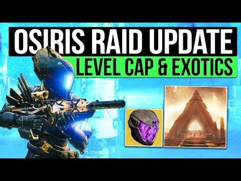 Destiny 2 News | Osiris Raid Content, New Level Cap, Graviton Forfeit, New Sword, Strikes & More!