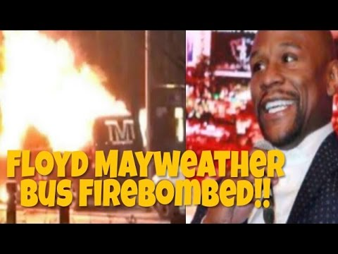 Floyd Mayweather TMT Bus FireBombed And Robbed In Birmingham UK | @DocHicksTv