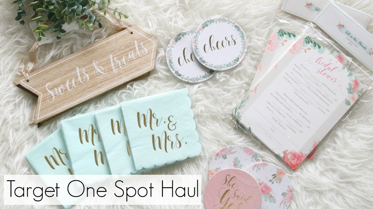 New Target Dollar Spot Haul 2018 | Bridal Collection - YouTube