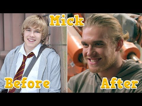 House Of Anubis Cast - Before And After [part 2]