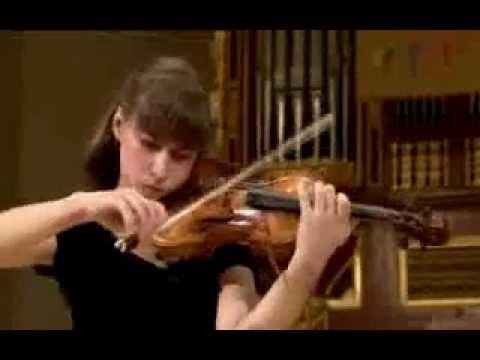 Aleksandra Kuls plays at 14th International Henryk Wieniawski Violin Competition 2011 (Stage 2)
