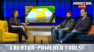 MINECON Live 2019: Creative Tools in Minecraft Bedrock