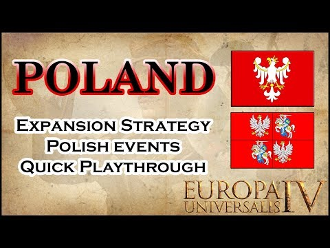 EU4 Poland - Commonwealth Guide | Early Game Strategy | Achi