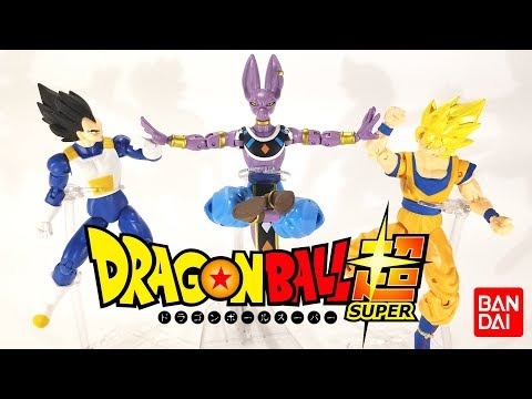 Dragon Ball Super Dragon Stars Series 1 Action Figures SS2 Goku, Beerus,Vegeta BUST IT OPEN REVIEW!