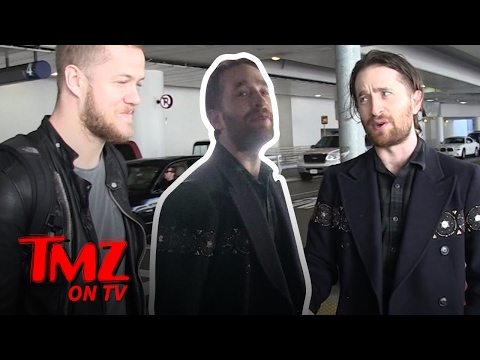 We Imagine Dragons With The Band Imagine Dragons | TMZ TV