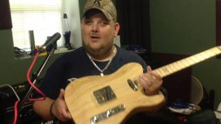 Johnny Hiland and Chapman guitars Johnny gets his first ML 3