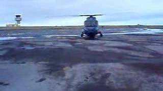 danish navy helicopter in keflavik iceland