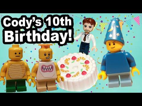SML Lego: Cody's 10th Birthday!