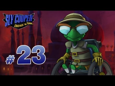 sly cooper: thieves in time walkthrough - part 23 - ice ice bentley