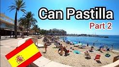 ⁴ᴷ CAN PASTILLA walking tour 🇪🇸 Palma beach, Mallorca (Majorca) Spain (Part 2) 4K