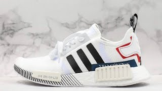 """NMD_R1 """"Japan White Colorblock"""" Sneaker Review! - YouTube"""