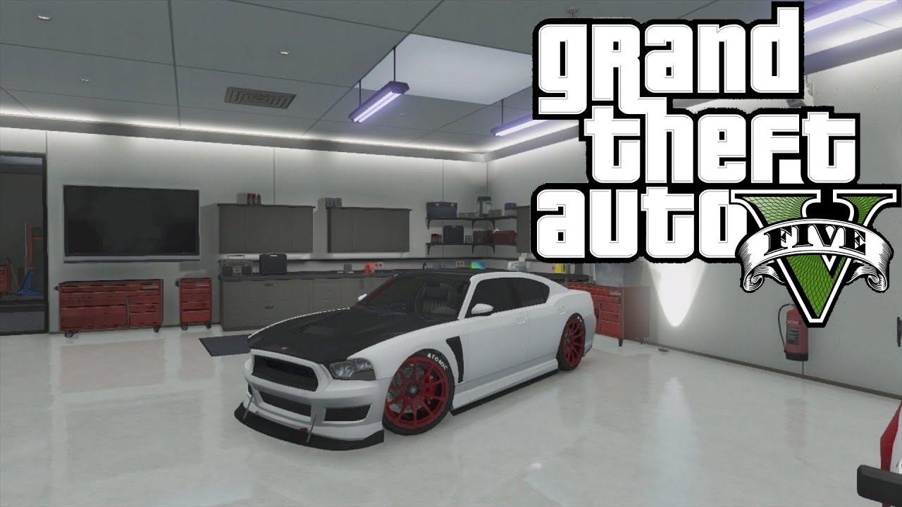 Gta 5 Online How To Get Franklins Car Modded Bravado Buffalo YouTube