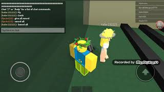 The roblox game is kohls admin house nbc