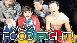 4 Guys Get Messy | Jc, Kian, Nash & Cameron