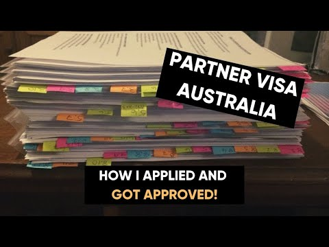 How to apply for 820 defacto subclass partner visa to Australia