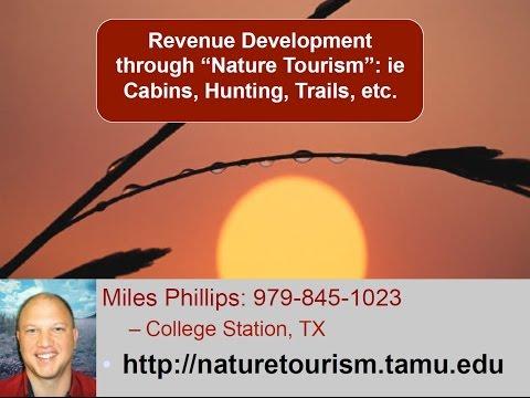 WEB Workshop: Part8_Nature Tourism
