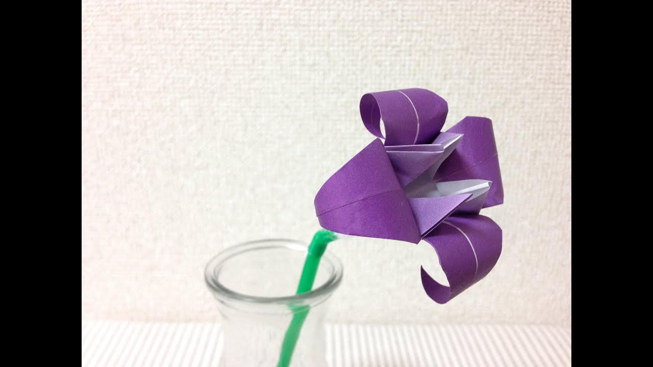 ������ ������������ �����origami iris flower instructions