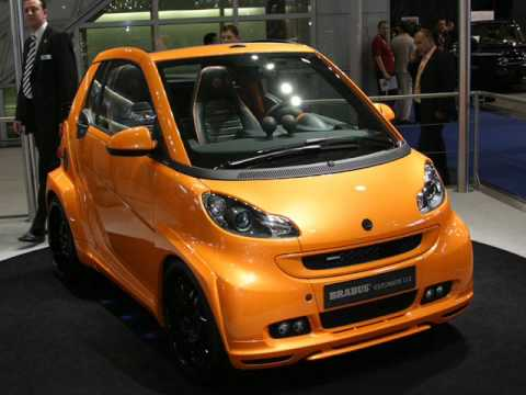 Smart Brabus Fortwo Ultimate 112 Youtube