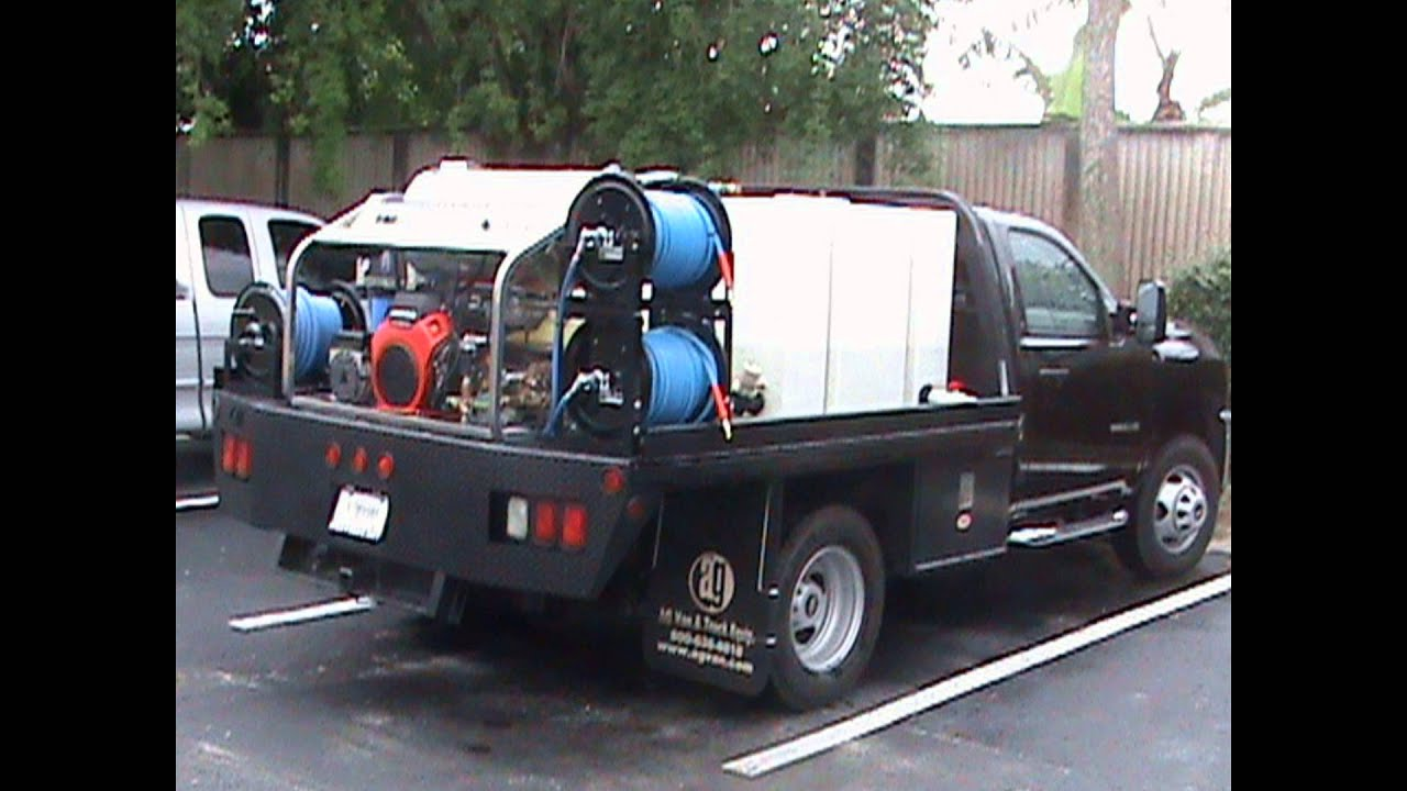 TRUCK AND TRAILER MOUNT PRESSURE WASHERS 1 800 731 7789